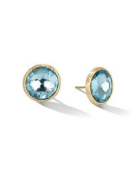 Marco Bicego - 18K Yellow Gold Jaipur Color Gemstone Large Stud Earrings