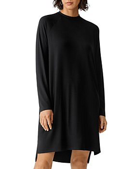 Eileen Fisher - Crewneck Jersey Dress