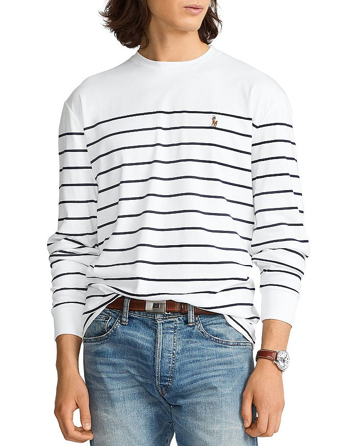 Polo Ralph Lauren - Classic Fit Striped Long-Sleeve Tee