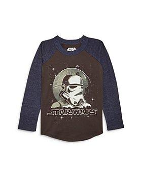 CHASER - Boys' Star Wars Raglan Long Sleeve Tee - Little Kid