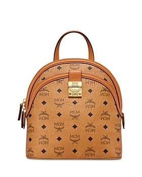 MCM - Anna Visetos Small Backpack