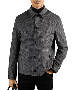 Ted Baker - Conch Wool Blend Check Jacket