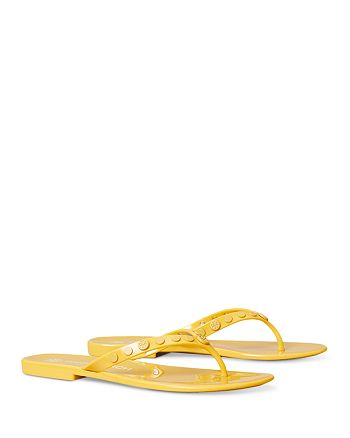 Tory Burch - Women's Studded Jelly Thong Sandals
