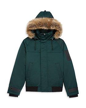 The Kooples - Faux Fur Trimmed Down Jacket