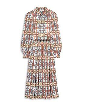 Tory Burch - Garden Maze Printed Shirtdress