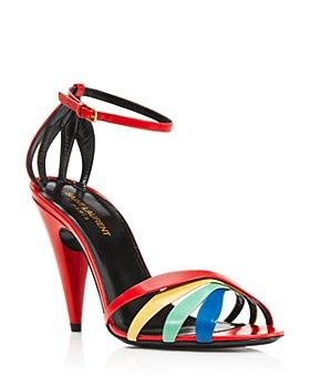 Saint Laurent - Women's Kristen Strappy Sandals