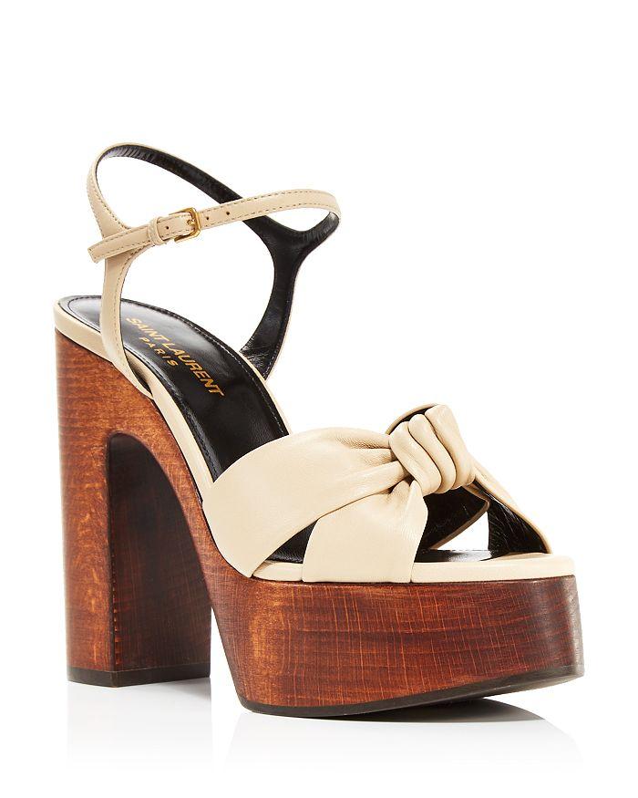 Saint Laurent - Women's Bianca Node Sandals