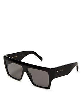 CELINE - Unisex Flat Top Square Sunglasses, 57mm
