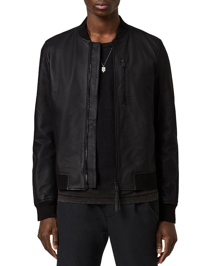 ALLSAINTS - Ivor Leather Bomber Jacket