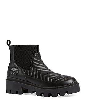 Gucci - Women's Frances Matelassé Chelsea Boots