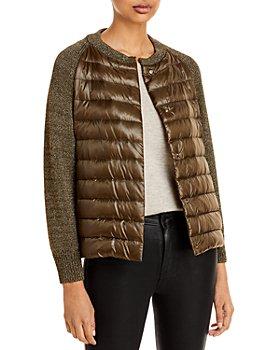Herno - Metallic Puffer Jacket