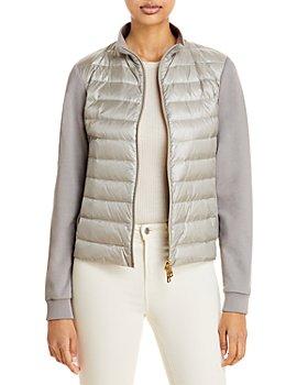 Herno - Sweater Puffer Coat