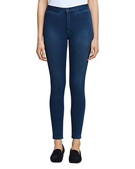 L'AGENCE - Yasmeen High Rise Skinny Jeans in River Blue