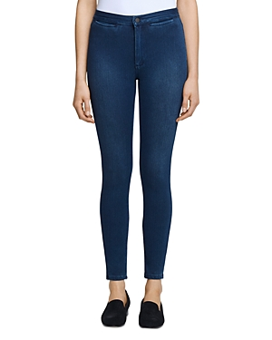 L Agence L'AGENCE YASMEEN HIGH RISE SKINNY JEANS IN RIVER BLUE