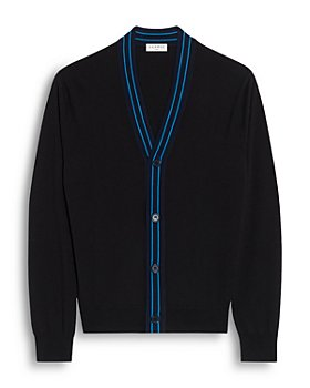 Sandro - Outline Fine Knit Wool Cardigan