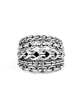 JOHN HARDY - Sterling Silver Classic Chain Asli Ring