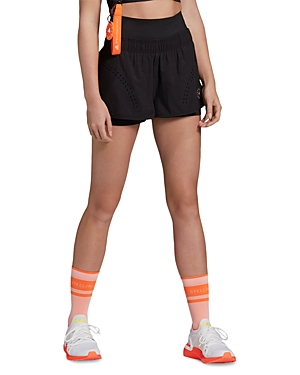 Adidas By Stella Mccartney Shorts ADIDAS BY STELLA MCCARTNEY TRUEPURPOSE LAYERED SHORTS