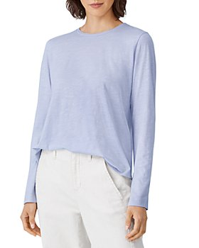Eileen Fisher - Cotton Long Sleeve Tee