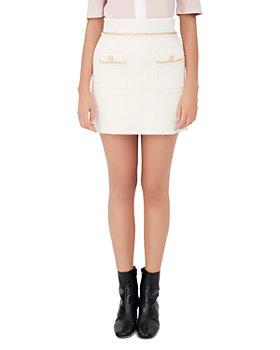 Maje - Jonkyl Chain Trim Mini Skirt