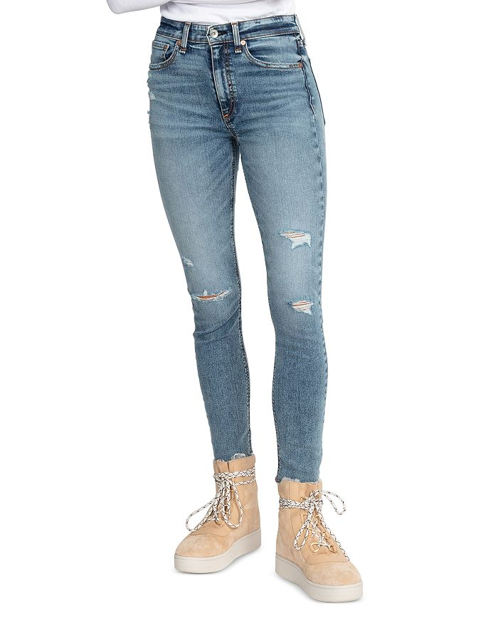 rag & bone - Nina Ankle Skinny Jeans in Horizon