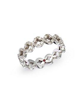 Roberto Coin - 18K White Gold Diamond Statement Ring