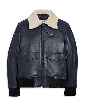 COACH - Shearling Bomber Jacket
