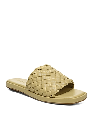 Vince Women's Rumi Slip On Woven Sandals