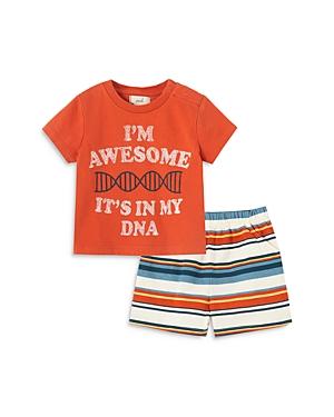 Peek Kids Boys' I'm Awesome Shorts Set - Baby