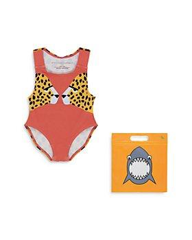 Stella McCartney - Girls' Cheetah One-Piece Swimsuit - Baby