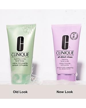 Clinique Foaming Sonic Facial Soap 5 oz.