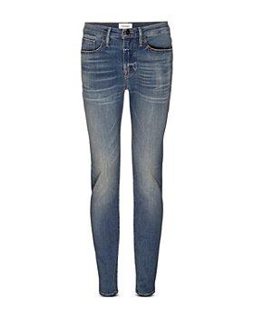 FRAME - Skinny Fit Jeans in Buckeye