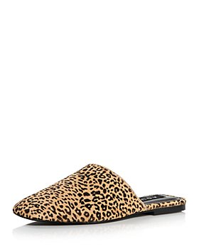 AQUA - Women's Bae Calf Hair Mule Flats - 100% Exclusive