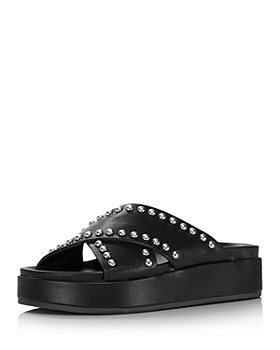 AQUA - Women's Krisa Slip On Platform Sandals - 100% Exclusive