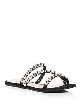 SCHUTZ - Women's Arline Studded Slide Sandals