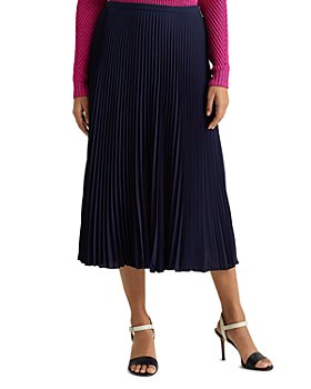 Ralph Lauren - Pleated Midi Skirt