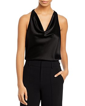 Alice and Olivia - Harmon Draped Sleeveless Top