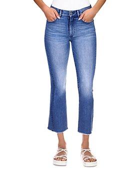 DL1961 - Bridget Instasculpt Cropped Bootcut Jeans in Blue Bird