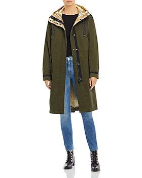 DUALIST - Elisheva Reversible Hooded Coat
