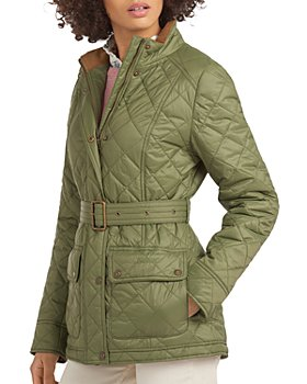 Barbour - Bowland Belted Quilted Coat