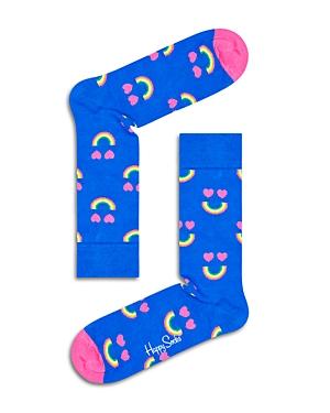 Rainbow Smile Socks