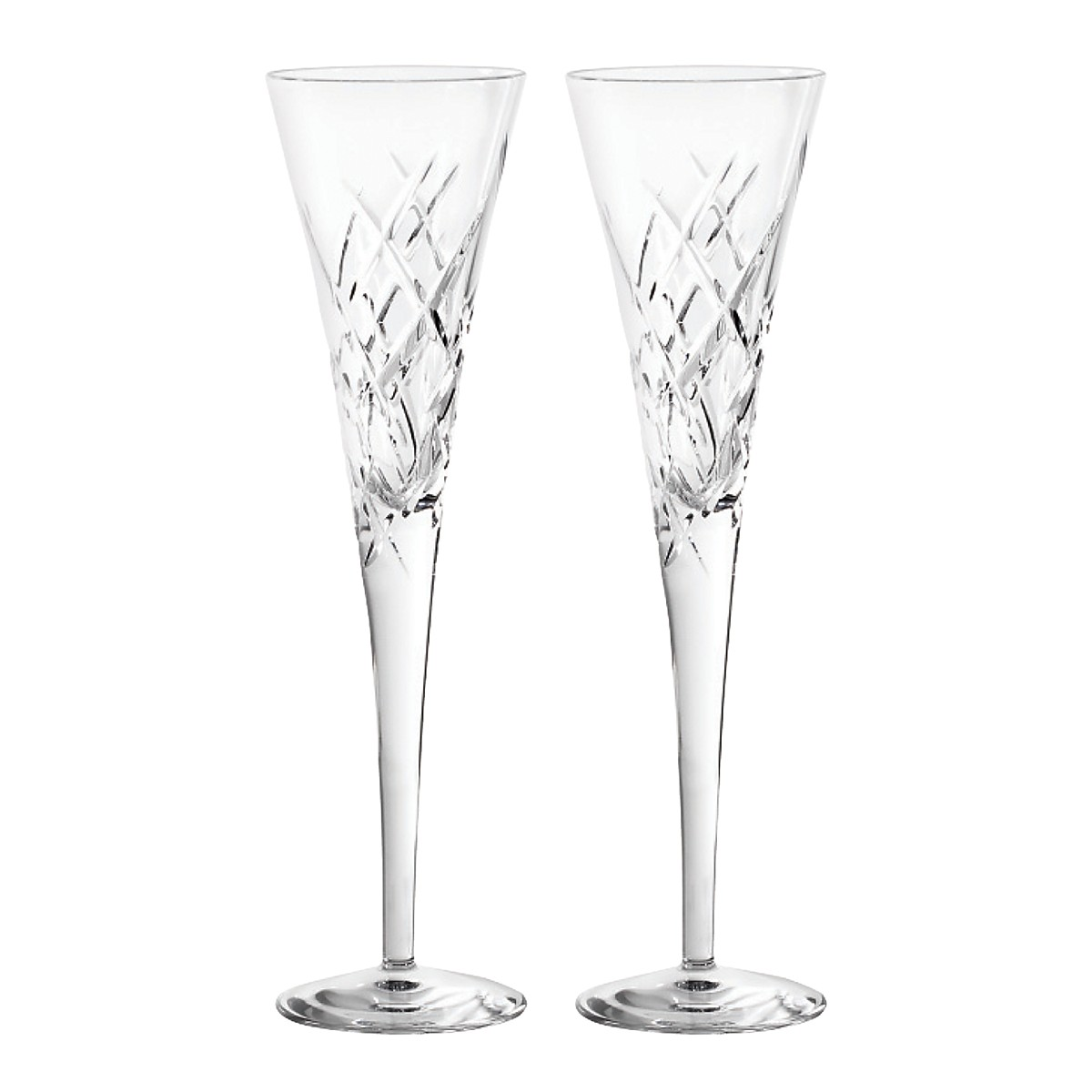 Vera Wang Wedgwood Duchesse Encore Champagne Flute, Pair ...