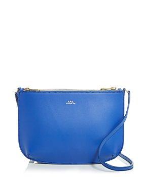 A.P.C. - Sarah Leather Shoulder Bag