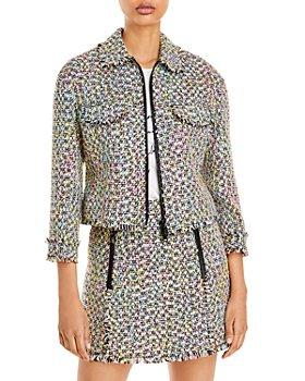 Armani - Zippered Tweed Jacket