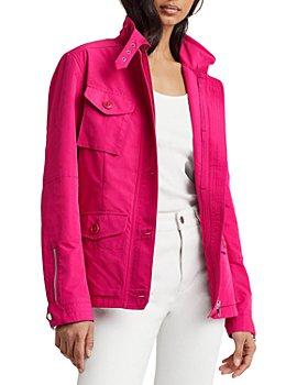 Ralph Lauren - Buckle Neck Zipper Jacket