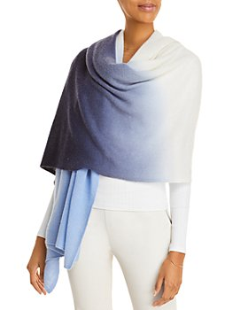 C by Bloomingdale's - Printed Cashmere Travel Wrap - 100% Exclusive