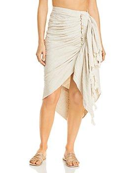 JUST BEE QUEEN - Tulum Shells Skirt Cover Up