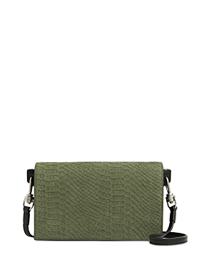 Allsaints GOLDSMITH SMALL LEATHER SHOULDER BAG