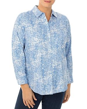 Rhea Python Print Shirt
