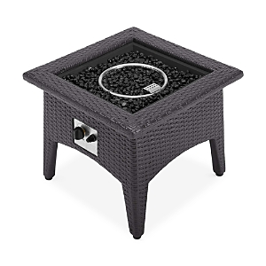 Modway Vivacity Outdoor Patio Propane Fire Pit Table
