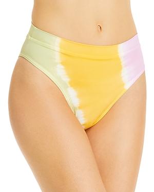 L*Space Frenchi Printed High Waist Bikini Bottoms